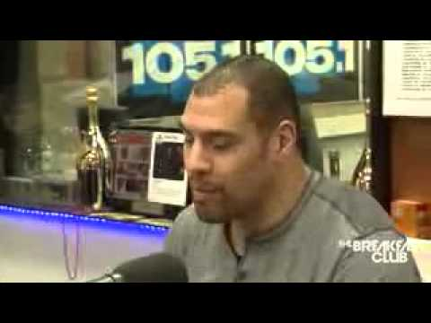 Derric Rossy Interview at The Breakfast Club Power 105 1 02 09 2015