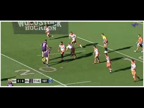 NRL Auckland Nines 2017 Wests Tigers V Storm Game 14 HD Match Highlights Rugby League