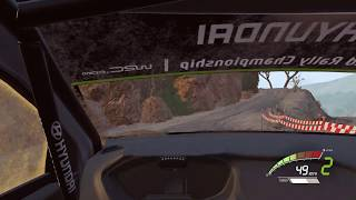 WRC 7 (PC) gameplay - Mexico Epic Stage (El Chocolate)