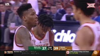 Baylor vs Texas Men's Basketball Highlights