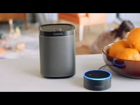 133d85124eb A home controlled by Alexa: controlling a Sonos Speaker through the amazon  echo and Harmony Hub. - YouTube