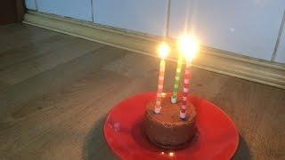 День рождение кота.Торт,подарки,поздравления.