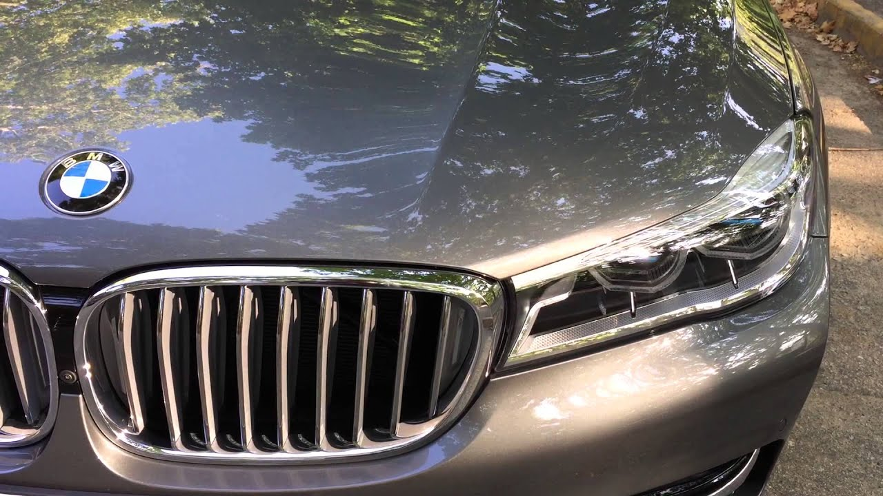 2016 Bmw 7 Series G11 G12 Active Kidney Grille Youtube