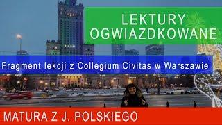 149. Lektury ogwiazdkowane. Fragment lekcji z Collegium Civitas w Warszawie