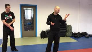 Releases from Bear Hugs from the Side, Amnon Darsa at Institute Krav Maga Netherlands.