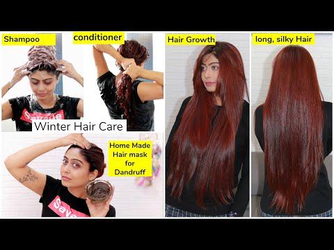 WINTER HAIR CARE ROUTINE | No Hair-Fall, No Dandruff, No Damaged Hair | Rinkal Soni