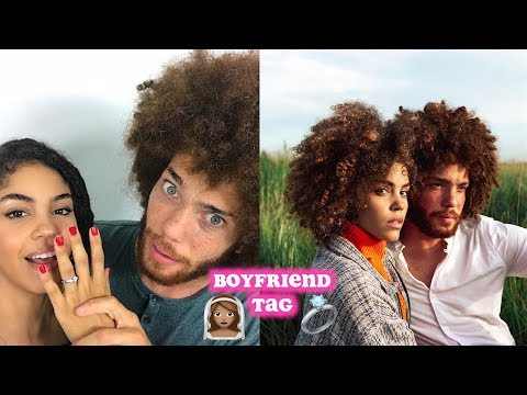 BOYFRIEND TAG | ENGAGED | ETHNICITY|  HES ON NETFLIX? Q&A SPANGLISH SUBTITLES