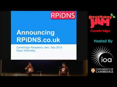 CamJam3 - Intro to Cambridge Raspberry Jam 21st Sep 2013