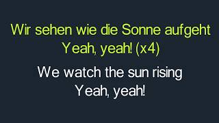 Marteria, Yasha, Miss Platnum - Lila Wolken Lyrics English and German - English Lyrics Translation