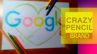 How to draw a google logo? GOOGLE DRAWINGS.