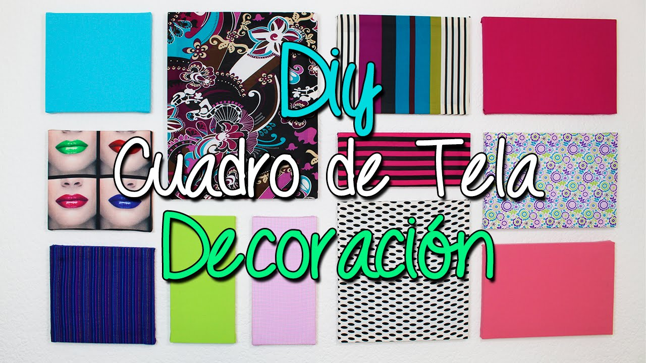 cuadros decorativos de tela ideas para decorar tu habitacin y pared diy catwalk youtube