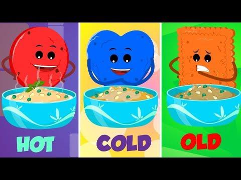 Cookie Peas Porridge Hot   Nursery Rhymes   Baby Songs For Children