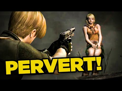 10 Video Game Characters That React To You Being A Creep