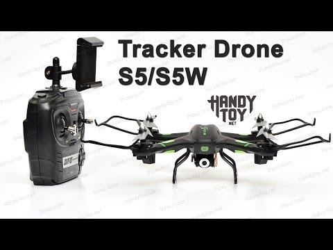 Máy bay điều khiển từ xa Tracker Drone S5 / S5W