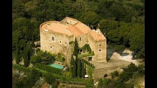 Magnificent 11th Century hilltop fortified Castle for Sale with 360 degree views.