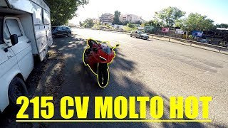 PORTIAMO LA PANIGALE V4S IN CITTÁ | TEST SOUND