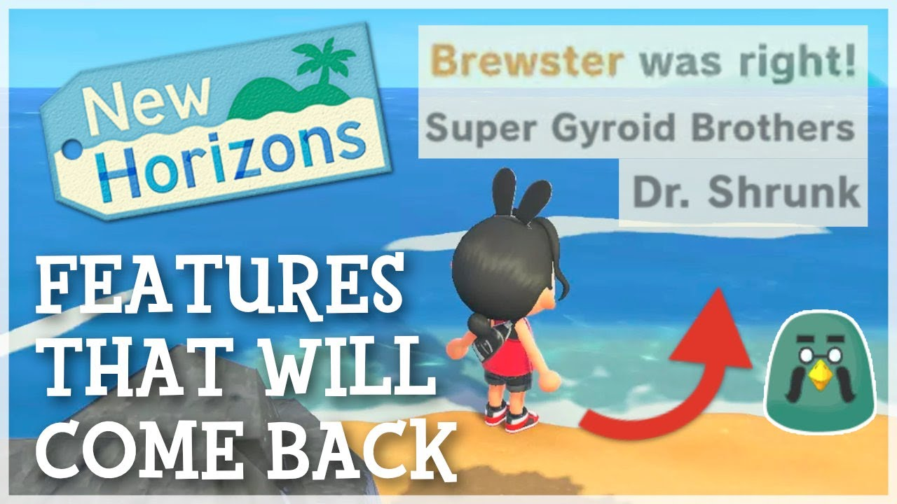 Animal Crossing New Horizons - Features That WILL Come Back (Speculation)
