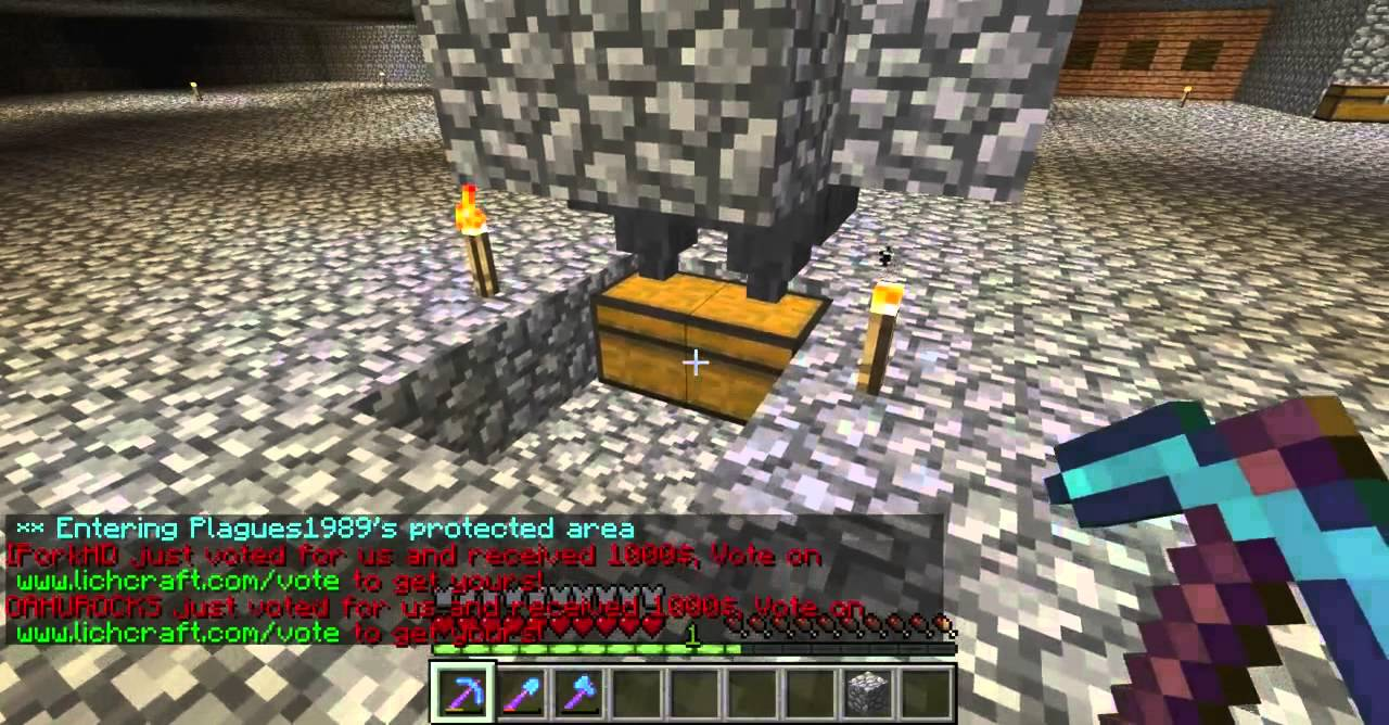 Minecraft Automatic Cow Spawner Farm