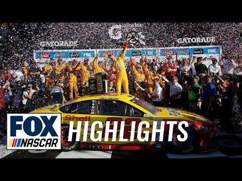 Joey Logano Wins The 2015 Daytona 500 - NASCAR Sprint Cup
