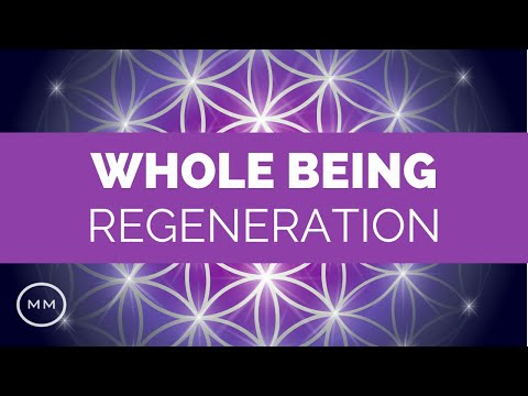 Whole Being Regeneration - Full Body Healing - 3.4 Hz + 7.83 Hz - Binaural Beats - Meditation Music