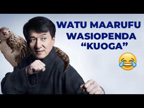 Download THE STORY BOOK:WAFAHAMU WATU WA TANO (5) MAARUFU WASIO PENDA KUOGA!!