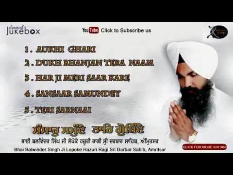 Jukebox | Bhai Balwinder Singh ji Lopoke | Sansar Samundey | Gurbani | Kirtan | Full Album | Audio