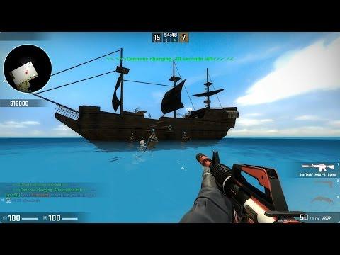 CS:GO - Zombie Escape Mod - ze_potc_v4_p - Pirates of the Caribbean - sG server