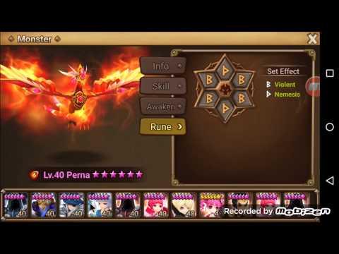 Summoners War Top Level Arena Defenses