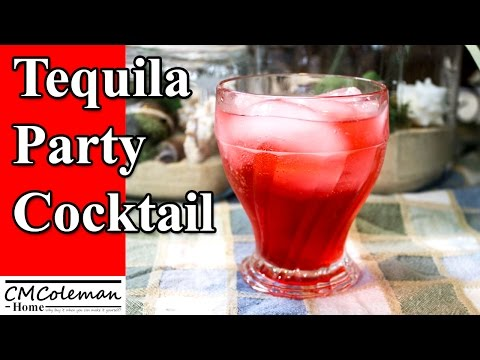 Tequila Party Cocktail