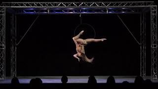 Meg Barnett - Solent Pole & Hoop Competition - Beginners Hoop Winner