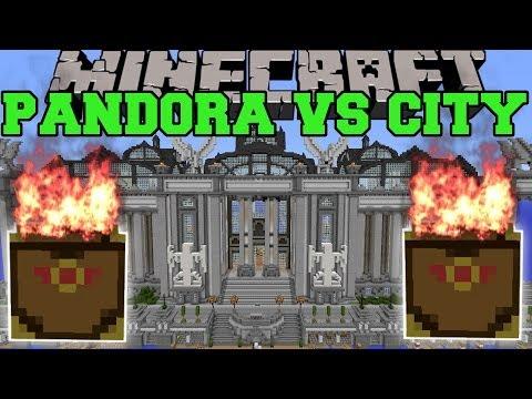 PANDORA'S BOX MOD VS IMPERIAL CITY - Minecraft Mods Vs Maps (Random And Crazy)