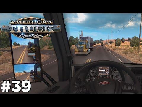 Grand Canyon Village to Nogales Arizona - Digger 500 [392mi] - American Truck Simulator [ep39]