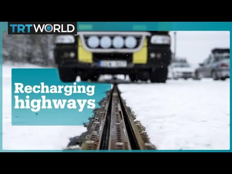 Sweden debuts the world's first electrified road