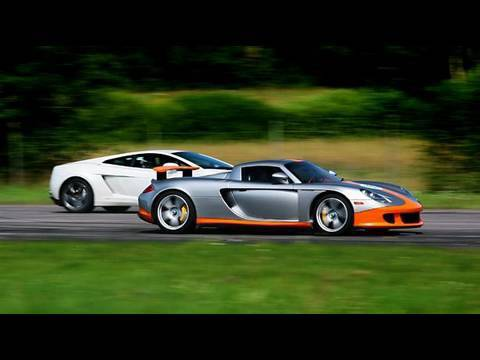 carrera gt vs: