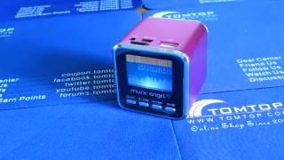 Micro SD TF USB Mini Stereo Speaker Music MP3 Player FM Radio