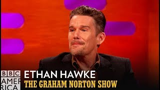 Ethan Hawke Thought Robin Williams Hated Him - The Graham Norton Show