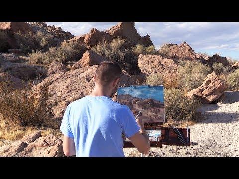 Plein Air Desert Landscape | Paint with Kevin ®