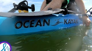😅Ocean Kayaks Malibu Pedal Fishing Jacks, Lady Fish, Snappers