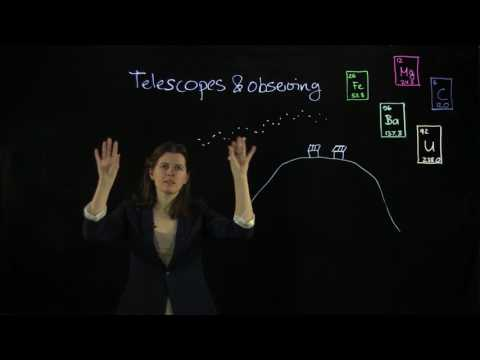 Cosmic Origin of the Chemical Elements: Telescopes and observing (Ep. 10)