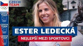 ESTER LEDECKÁ přebírá cenu Českého olympijského výboru!????????