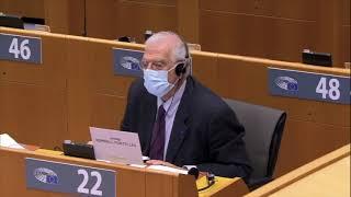 """Intervento durante la Plenaria a Bruxelles dell'europarlamentare Massimiliano Smeriglio sul """"Rafforzare l'azione esterna dell'UE in America latina e nei Caraibi in seguito all'ultima conferenza ministeriale UE-ALC""""."""