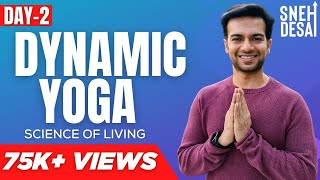 Yoga Asanas with Benefits in Hindi | Best Dynamic Yoga  FREE Videos DVD Online - Day 2