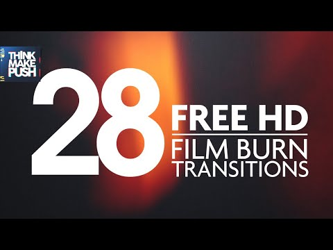 28 FREE HD FILM BURN TRANSITIONS