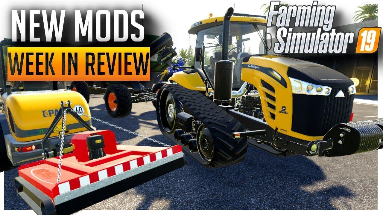 ModHub Mods, Week in Review   Farming Simulator 2019
