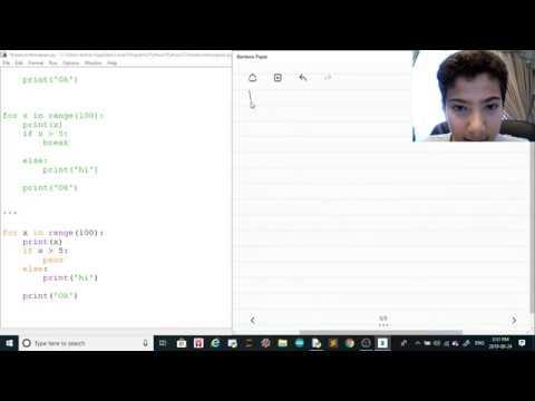Python Tutorial 13 - Pass VS Continue VS Break thumbnail