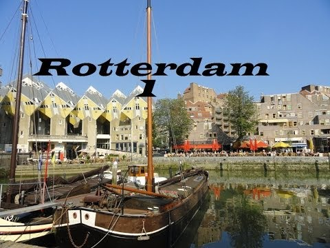 Netherlands-Rotterdam-Holland  (Walking tour Part 4)