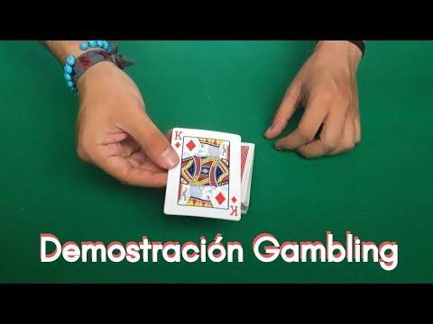 Demostración Gambling (El Arte De REVOLVER UNA BARAJA De Poker A Tu Conveniencia)