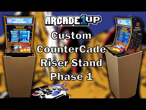 Arcade1up Countercade Riser Stand Phase 1 from MadDadsGaming