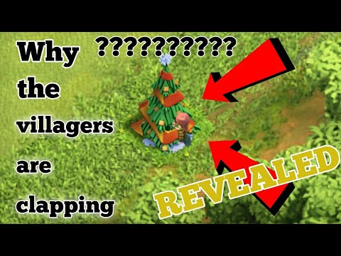 Why do Villagers clap on our obstacles????REVEALED!! Clash of clans