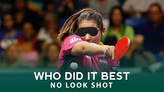 No Look Shot | Who Did The BEST?